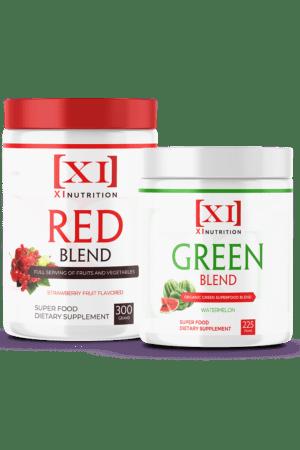 Super Organic Green/Red Bundle